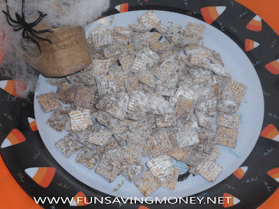 Puppy Chow, Peoples Puppy Chow, Chex Mix, Muddy Buddies, Halloween