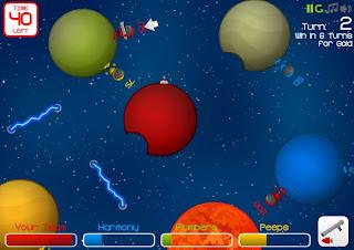 Flash-игра Gravitee Wars