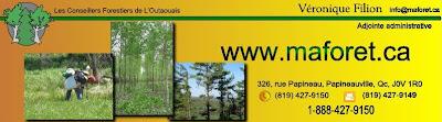 Conseillers forestiers de l'Outaouais