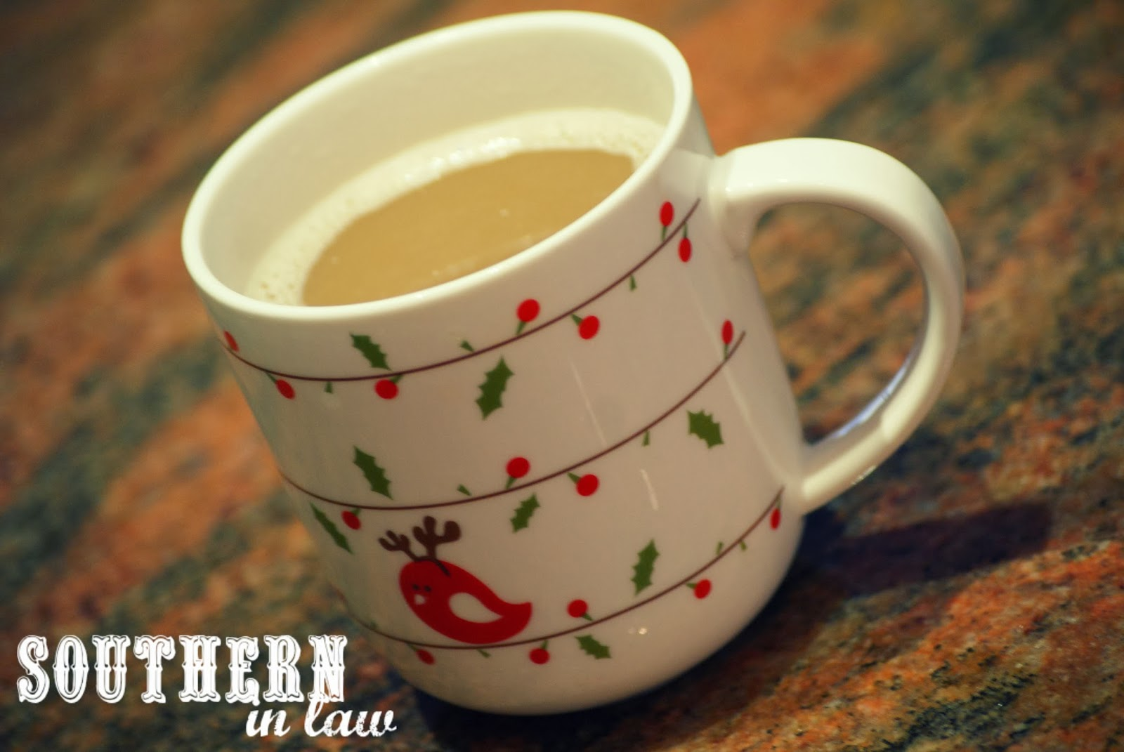 Christmas Mug in February