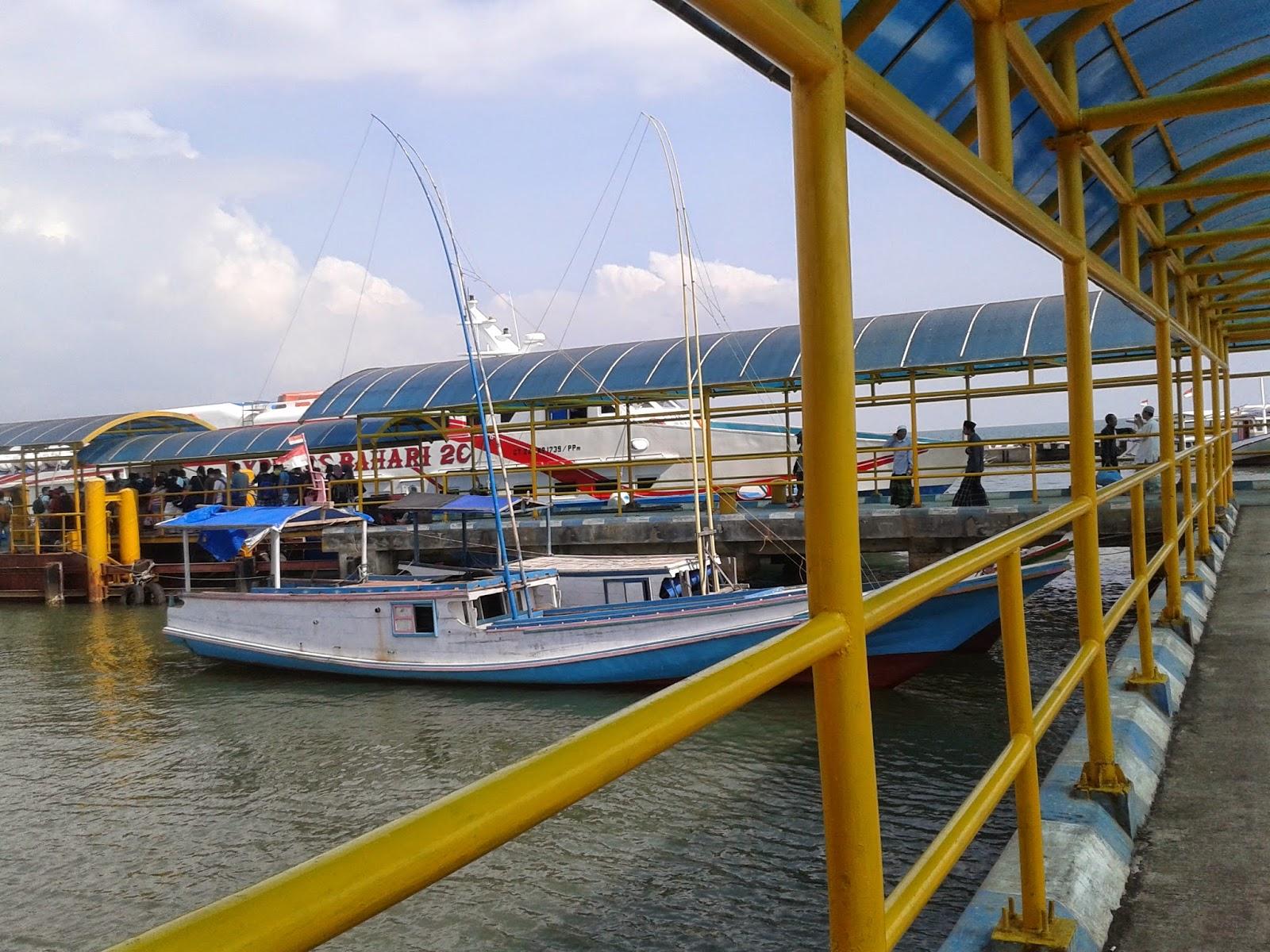 Menuju kapal cepat Bahari
