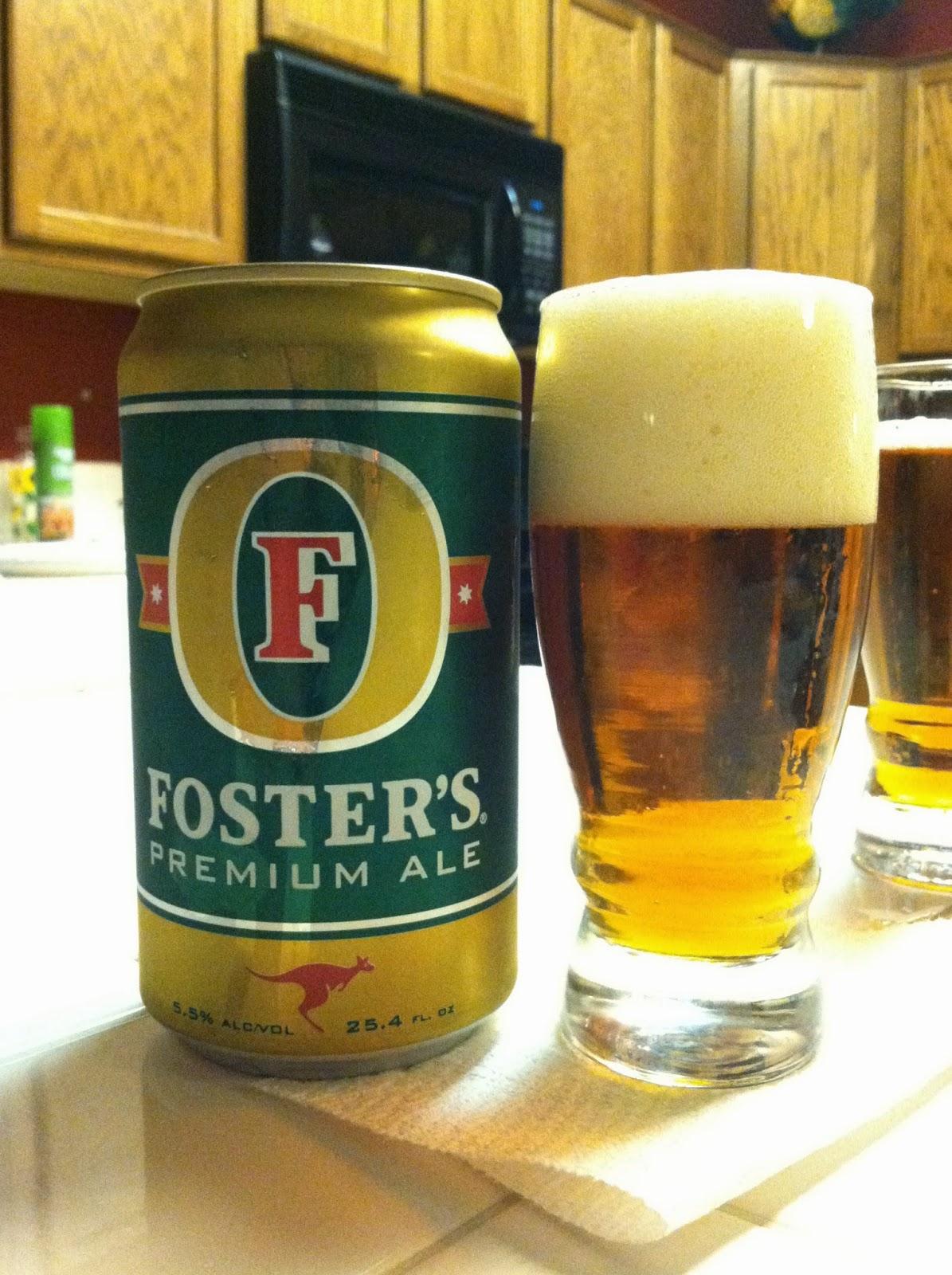 Fosters Premium Ale 1