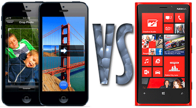 Apple iPhone 5 vs. Nokia Lumia 920 latest review and comparison