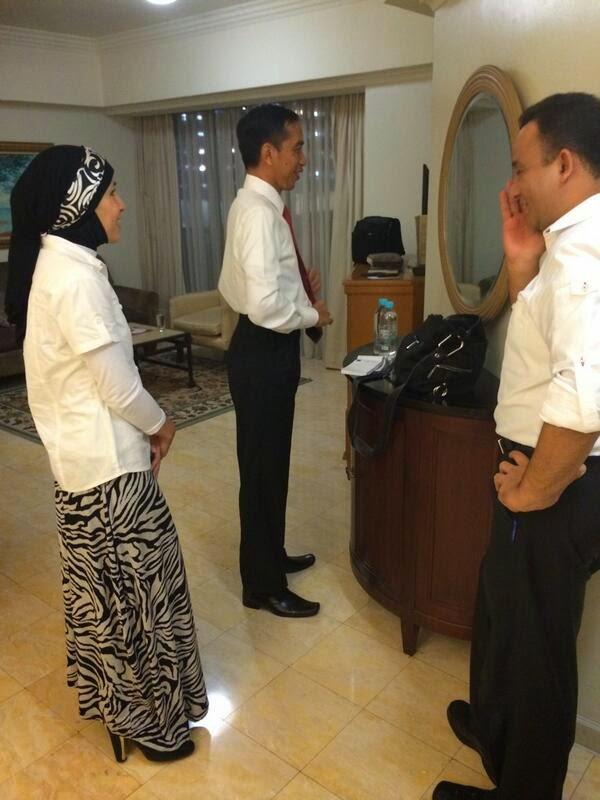 Suami Istri Dukung Jokowi