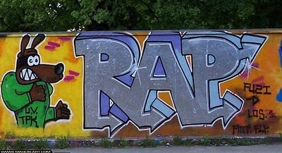 Various Rap Graffiti