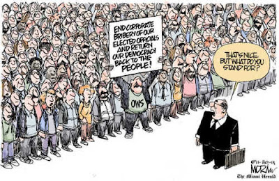 Cartoon: Occupy Movement seeks to regain democracy