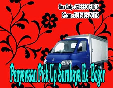 Penyewaan Pick Up Surabaya Ke Bogor