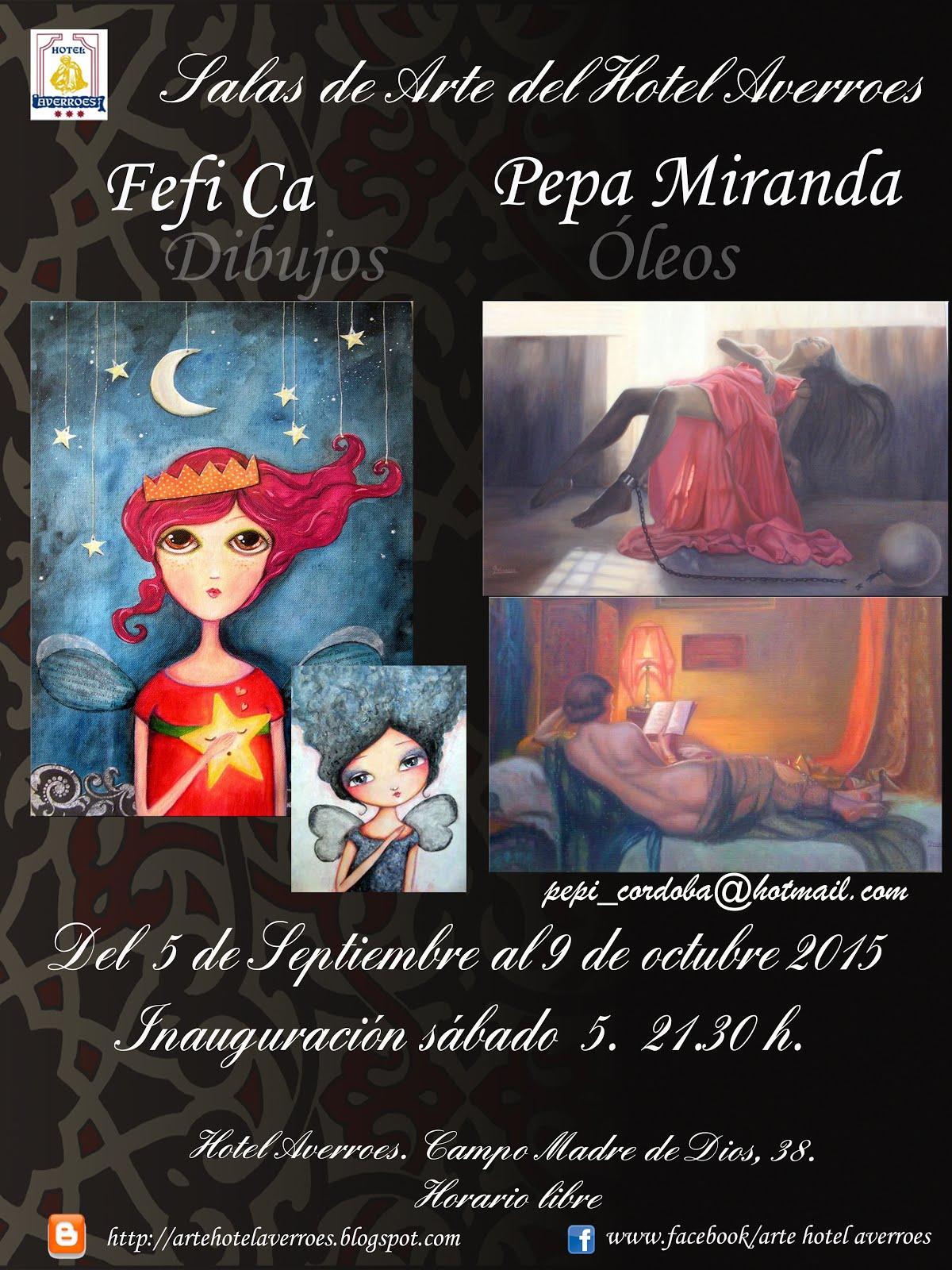 Septiembre: Dibujos de Fefi Ca y pinturas de Pepa Miranda