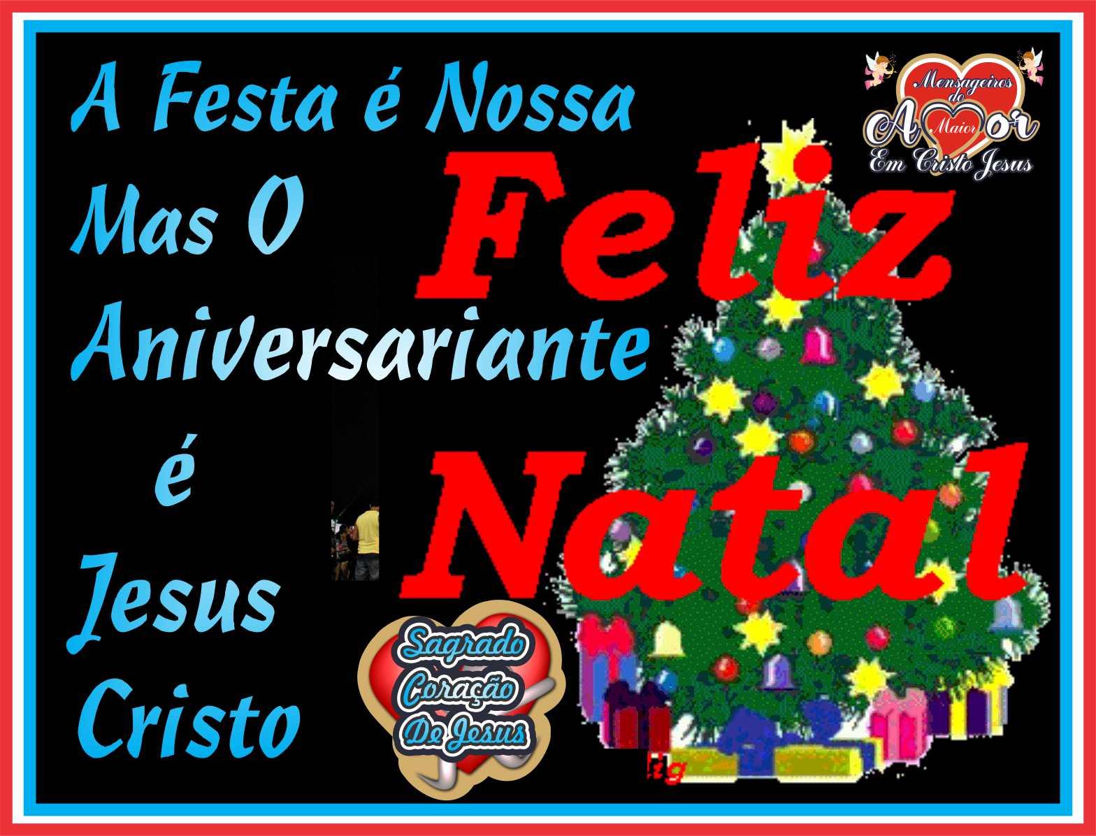 A Festa é Nossa, Mas O Aniversariante é Jesus Cristo Nosso Eterno Senhor