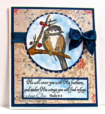 Our Daily Bread designs You Will Find Refuge, ODBD Customer Card of the Day by Shirley Qu