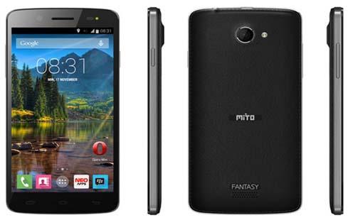 Harga Mito Fantasy U A60 dan Spesifikasi, Phablet Android KitKat Berkamera 13 MP