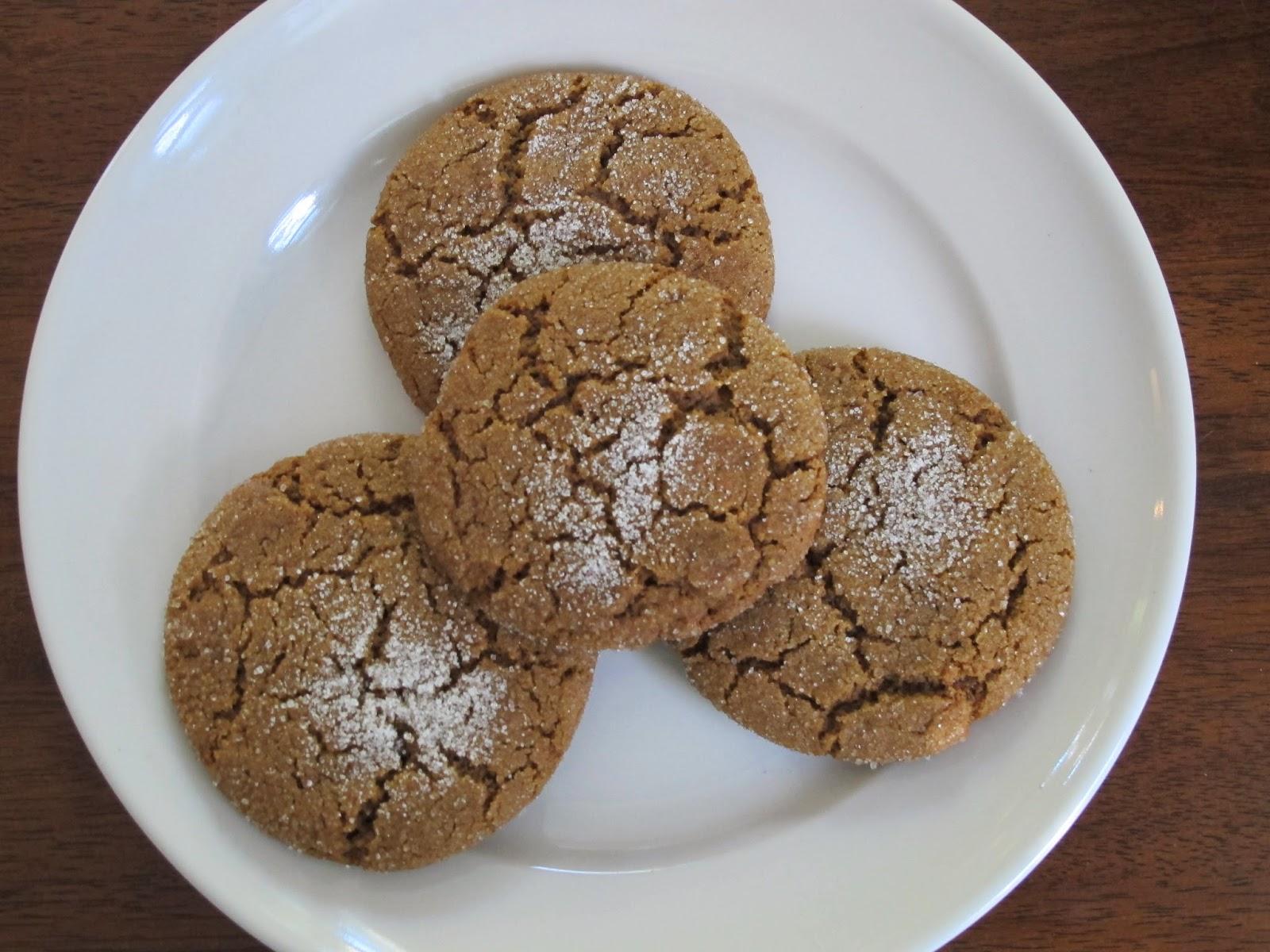 Ginger Cookies Martha Stewart