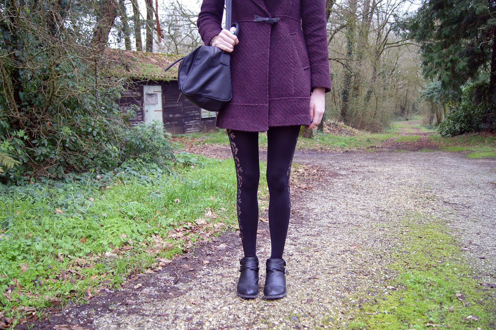 manteau bordeaux marsala
