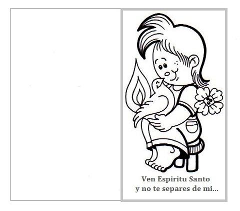 El Rincón de las Melli: TARJETA: Ven Espíritu Santo y no te separes ...