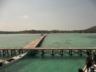 Jembatan di Pulau Genting