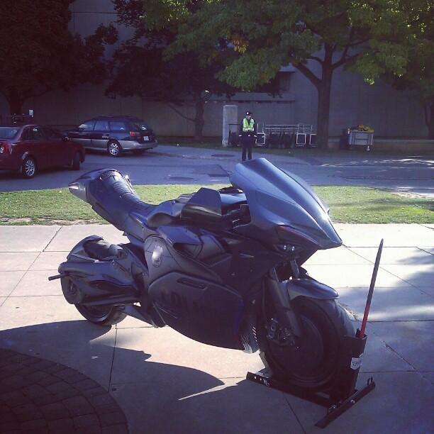 La motocicleta del nuevo Robocop