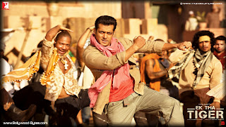 Salman Khan Dancing HD Wallpaper from Ek Tha Tiger
