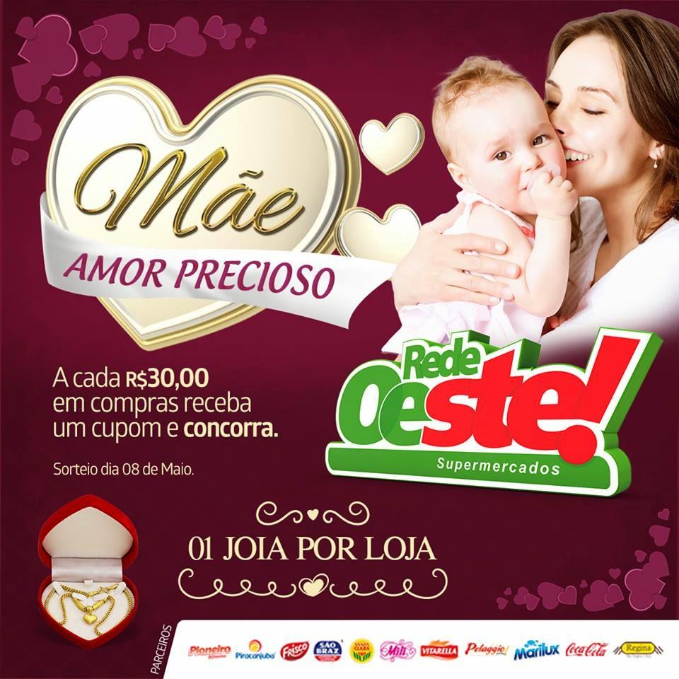 PROMOÇÃO DA REDE OESTE SUPERMERCADOS E MERCANTIL ESTRELA.