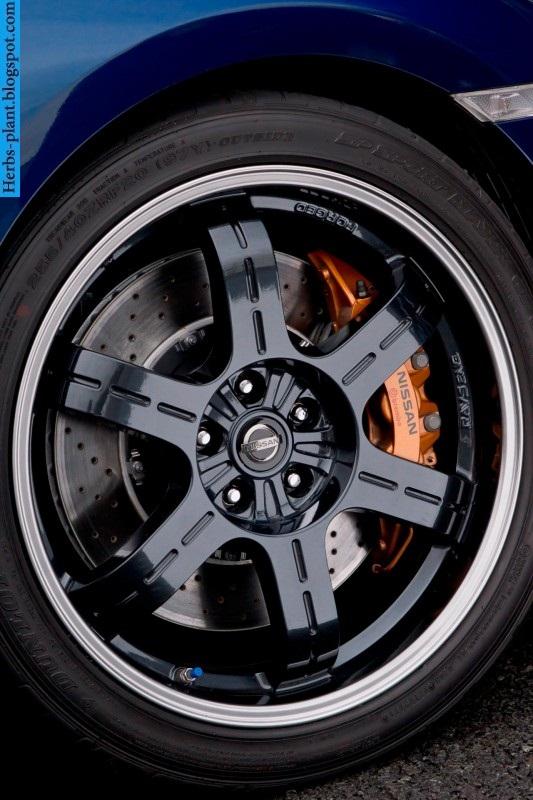 Nissan GT-R car 2013 tyres/wheels - صور اطارات سيارة نيسان جي تي ار 2013