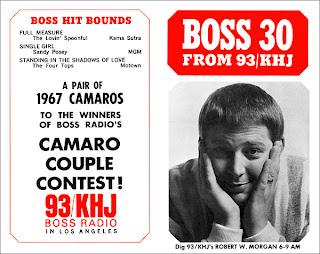 KHJ Boss 30 No. 74 - Robert W. Morgan