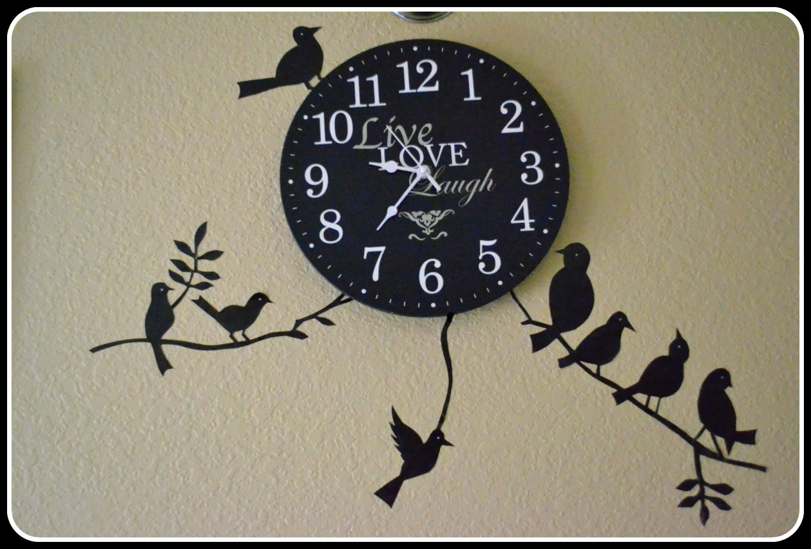DreamAndCraft - My little shop in Etsy: Black Birds Wall Decal On ...