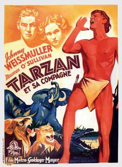 往年の名画 「ターザンとその友達」(1934年)