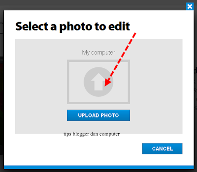 select a photo to edit