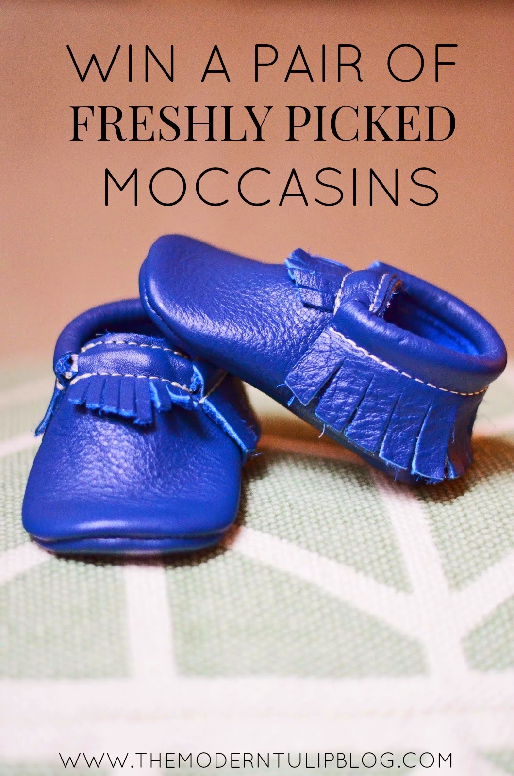 Win a Pair of Freshly Picked Moccasins