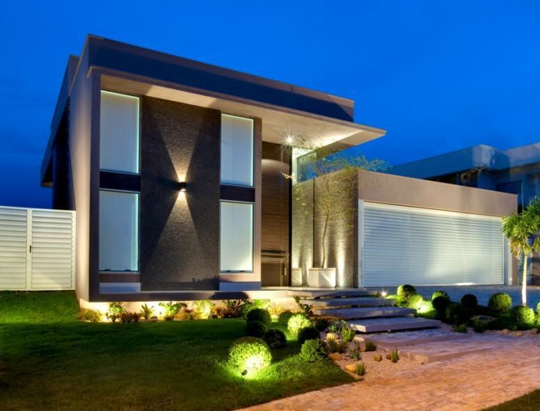 15 fachadas de casas com portas de entrada pain is altas - Entradas para casas ...