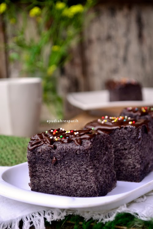 Cake Kukus Ketan Hitam