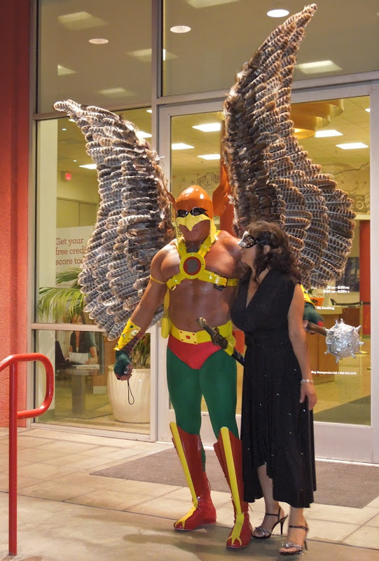 West Hollywood Halloween Carnaval Hawkman