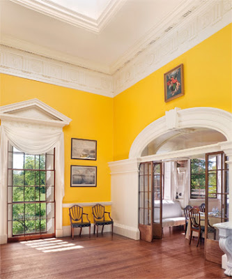 Monticello Dining Room Yellow