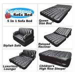 Kasur Angin Air-O-Space Sofa Bed 5 in 1