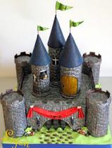 "Торт ""Замок"" из мастики от Лизы Арье"