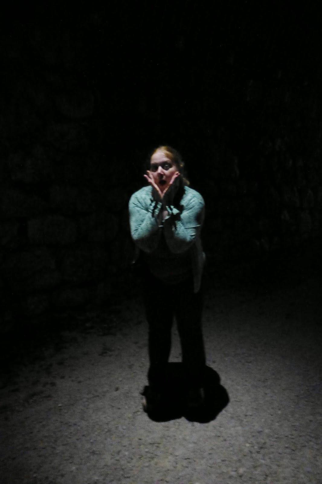 im Licht des Tunnels