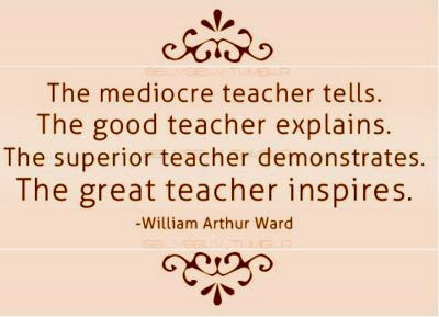 Quality of a great teacher