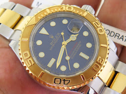 ROLEX YACHT MASTER TWO TONE SUNBURST BLUE DIAL - ROLEX 16623 TWO TONE - SERIE D YEAR 2007 - FULLSET