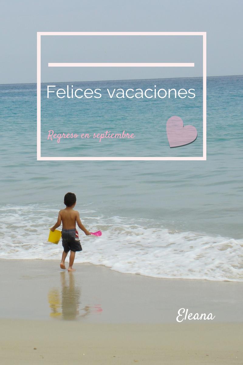 Eleana, vacaciones