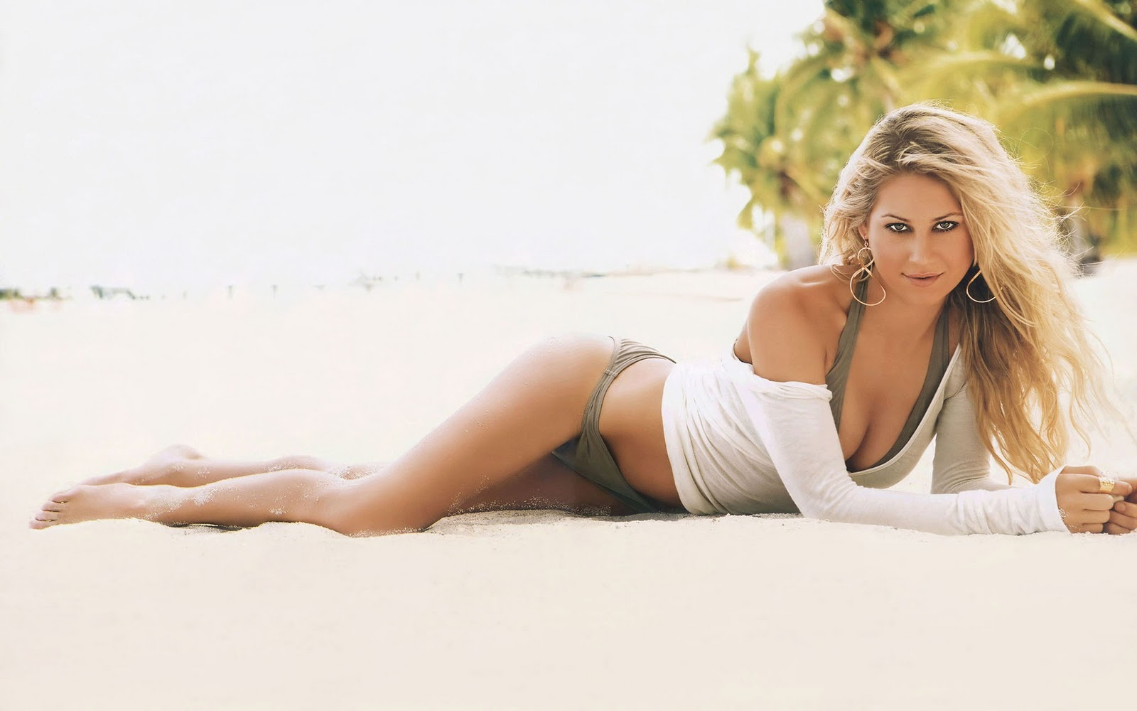 wallpaper Anna Kournikova Wallpaper