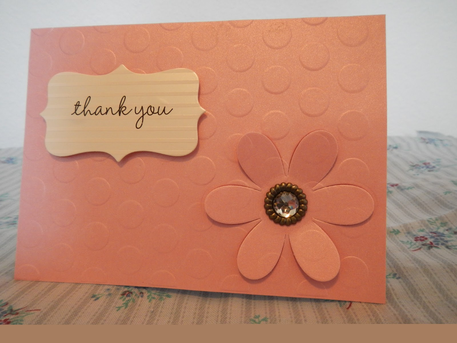 Hand Made Cards Handmade Thank You Cards