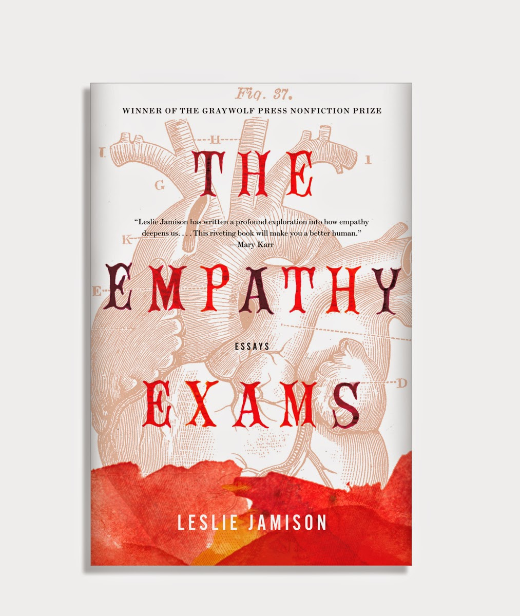 shelved books the empathy exams graywolf press 2014 art directed by michael taeckens