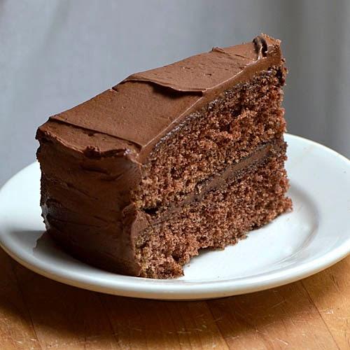 Mad About Maida: Old-Fashioned Fudge Cake