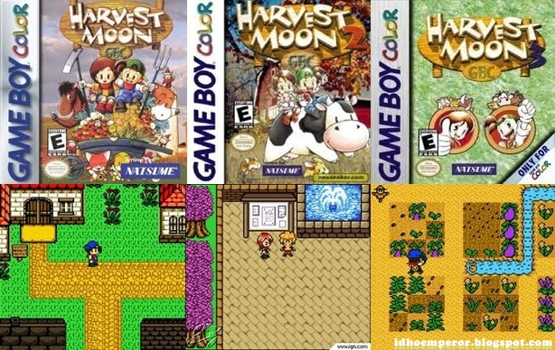Kumpulan game HARVEST MOON (Java) | Harvest Moon All Series