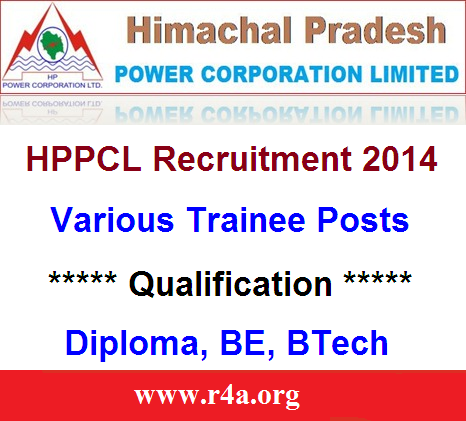 HPPCL recruitment 2014