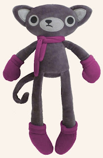 Adorable stuffed cat doll from Lilikin &amp; Friends