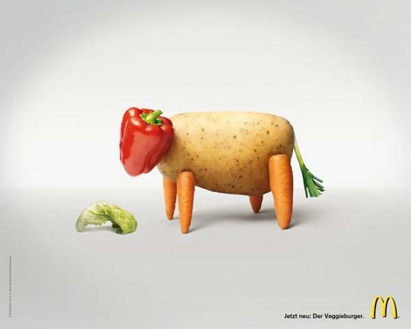 McDonald's veggie burger vegetarian hamburguesa vegetariana