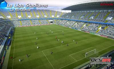 La Rosaleda Stadium, Málaga - PES 2013