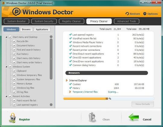 تحميل برنامج Windows Doctor لتسريع الويندوز مجانا