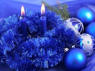 Plavi Božić download besplatne pozadine slike za mobitele