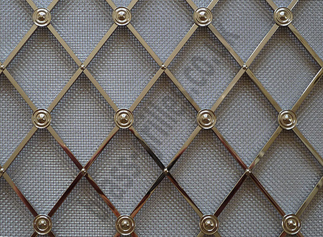 Decorative Metal Grille Panels